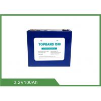 Buy cheap High Energy 3.2V 100Ah Lithium ion LiFePO4 Batteries for Solar Energy Storage EV from wholesalers