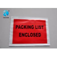 China Peal and Seal Packing List  envelope enclosed , Poly Mailing Bags wholesale