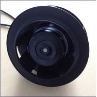 China Fresh Air System EC Centrifugal Eshaust Ventilation Fans PA66 133mm 175mm wholesale