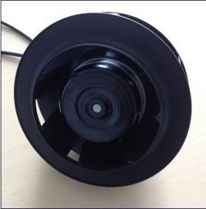 China SimilarEbm-Past EC Centrifugal Fans Air Purification 220mm Black wholesale