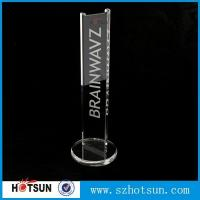 China earphone stand acrylic crystal clear fits virtually all earphones wholesale