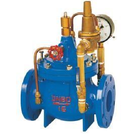 China 400X Hydraulic Flow Control Valve Ductile Iron Flanged End Diaphragm PistonType wholesale