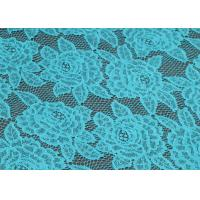 China 100% Polyester Lace Fabric By The Yard , 150cm Width CY-CT4062 on sale