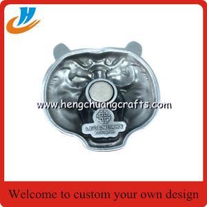 China Custom paper souvenir fridge magnet magnets for fridge/antique nickel plated fridge magnets wholesale