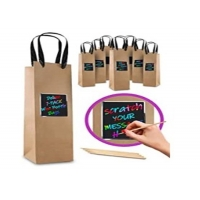 China Customized wine bag by material, printing, size wholesale