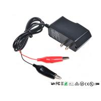 China Alligator Clips Battery Charger With LED When Charging Red Charged Green wholesale