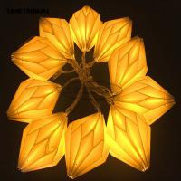 Buy cheap Origami White Paper lantern String Lights 15cm window Party Decoration from wholesalers