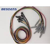Quality BCI Researcher EEG Electrodes Used Multicolor Coated Gold EEG Cup Electrodes for sale