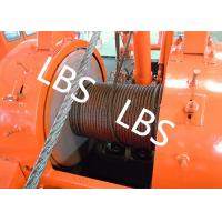 China Oil Drilling Equipment Offshore Winch Tractor Hoist Winch / Well Servicing Unit Winch wholesale