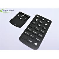 China Waterproof Numeric Keypad Keyboard , Black Silicon Wireless Keyboard Multi Color on sale