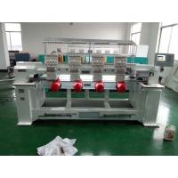 China Four Heads / Single Head Computer Embroidery Machine Support Multi Languages wholesale