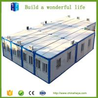 China uganda flatpack steel framed container house prefab houses China supplier wholesale