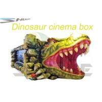 China Removable Mobile 5D Cinema With Hydraulic / Pneumatic System Motion Theater Chair wholesale