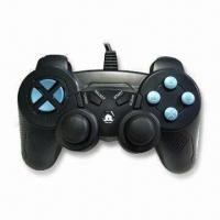 China PC Gamepad with 4 LED Indicators and Trigger Design for L2/R2 wholesale