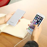 Quality Ultra Slim External Battery Micro Usb Power Bank Fast Charge Dual Input Output for sale
