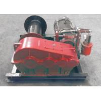 China Electric / Hydraulic Marine Winch Lebus Double Groove Drum With Wire Rope wholesale