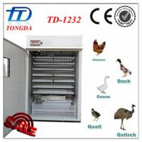 China TD-1232 automatic ventilator incubator for poultry farm wholesale