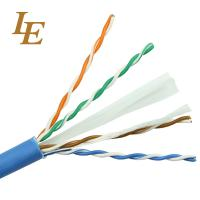 China Durable Network Lan Cable Cat 5e 4 In 1 PE Insulation Long Lifespan ROHS Approved on sale