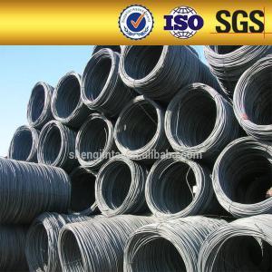 China 5.5mm  6.5mm diameter steel wire rod making machine on sale