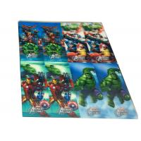 China Custom Printing 3D Lenticular Bookmarks Eco-friendly 0.2mm - 0.6mm wholesale