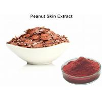 China Natural Red Pigment Peanut Skin Extract , Food Grade Peanut Skin Nutrition wholesale
