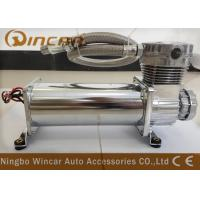 China Silver Suspension Auto Air Compressor , CE Approved Small Air Compressor For Tires wholesale