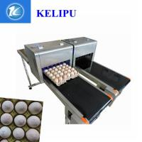 China Safety Egg Inkjet Coding Printer / Inkjet Marking Printer With Edible Food Ink wholesale