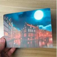 China OK3D printing factory supply Good Quality Custom Offset Printing Plastic PET Lenticular 3D lenticular card wholesale