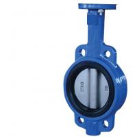 China Cast Iron Resilient Seated Butterfly Valves DN50 ~DN3000 For Sewage wholesale