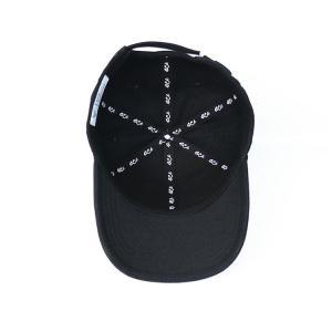 China Custom design your own brand ACE inner tape printing black 6panel  baseball caps hats wholesale