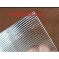 China Cylinder Polystere lenticular sheet 20LPI  material 3mm Thickness Plastic Lenticular plate thick lenticular material wholesale