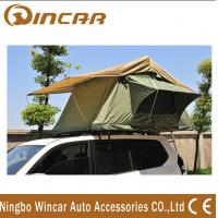 Quality 260g/280g Outdoor Custom Roof Top Tent For Car / Jeep With Canvas Fabric Double Layers for sale