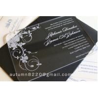 China IC (12) in sales customized acrylic invitation wholesale