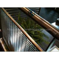 China Building Johnson Screen Mesh / Wedge Wire Panels Corrosion Resistance 3000*3000mm wholesale