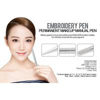 Buy cheap Aluminum Alloy Permanent Makeup Eyebrow Tattoo Pen Light Silver Pen from wholesalers