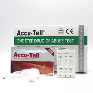 China Accu-Tell®Multi-Drug Saliva Rapid Test Cassette wholesale