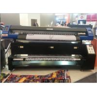 China 2 Pcs Dx7 Printhead Fabric Sublimation Printer / Fabric Printing Machine High Efficiency wholesale