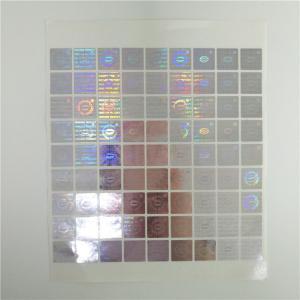 China Hologram Security Shrink Sleeve Labels Custom Printing Tamper Evident Label Sticker wholesale