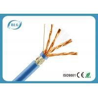 China High Speed Cat 7 Ethernet Cable 1000 FT / Blue Cat7 Bulk Network Cable wholesale
