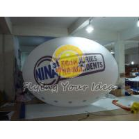 China Huge Two sides digital printed Oval Balloon with Good Elastic for Outdoor Advertising wholesale