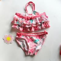 China 2016 Lovely pink baby girls swimsuit, Sexy girls swimwear,Separates for baby gilrs wholesale