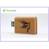 China OEM Wooden USB Flash Drive Promotion Book Wood Pendrive 4GB Pen drive with Company Logo 4GB 8GB 16GB 32GB on sale