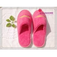 Buy cheap Luxury quality disposable cotton hotel slipper eva lady slipper from wholesalers