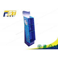 Buy cheap Custom Foldable Color Printiing Corrugated Carton Floor Standing Display Units from wholesalers