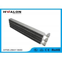 China Special Lead PTC Air Heater Heating Element With Ripple 220V , Aluminum Material on sale