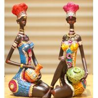 China African Style beautiful lady craftwork Decoration wholesale