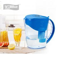 China 10 Cup Alkaline Water Filter Jug , BPA Free Plastic Water Purifier Pitcher 3.5L wholesale