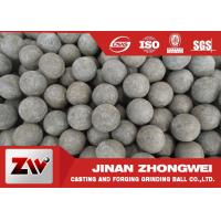 China Low Broken Rate Sag and AG Mill Grinding Media Balls / Forging Steel Balls wholesale