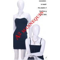 China AISHA GLOSSY GROUP,PLASTIC FULL BODY FEMALE MANNEQUIN,ABSTRACT HEAD,GLOSSY WHITE wholesale