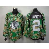 China nhl Chicago Blackhawks 2 Keith camo jersey cheap wholesale source wholesale